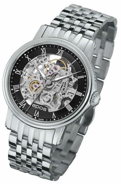 エポス エモーション 3390SKRBKM 自動巻き メンズ 腕時計 epos EMOTION