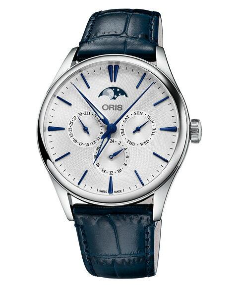 オリス アートリエ コンプリケーション 78177294051D 腕時計 メンズ ORIS Artelier Complication 781 7729 4051D レザーストラップ