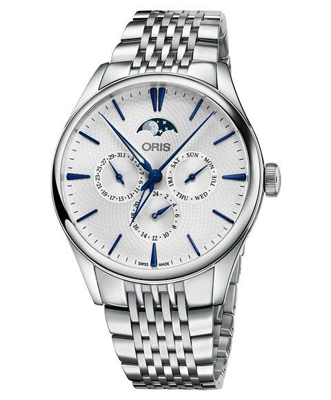 オリス アートリエ コンプリケーション 78177294051M 腕時計 メンズ ORIS Artelier Complication 781 7729 4051M メタルブレス