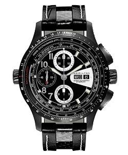 ハミルトンHamilton腕時計H76686735カーキアビエーションX-Machクロノ