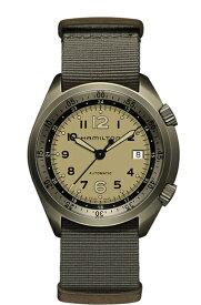 ハミルトン Hamilton 腕時計 H80435895 カーキ アビエーション パイロット パイオニア 自動巻 ゴールド