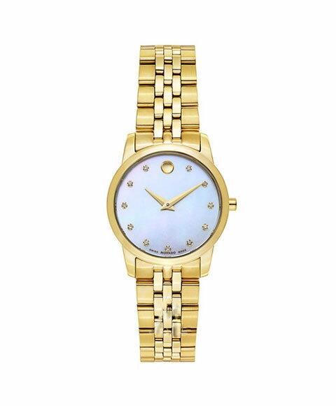 モバード ミュージアム 0606998 腕時計 レディース MOVADO Museum