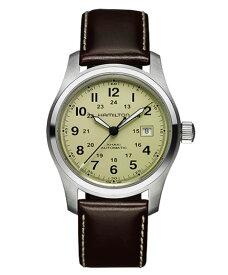 ハミルトン カーキ フィールド H70555523 腕時計 メンズ HAMILTON KHAKI FIELD 自動巻 レザーストラップ ブラウン系