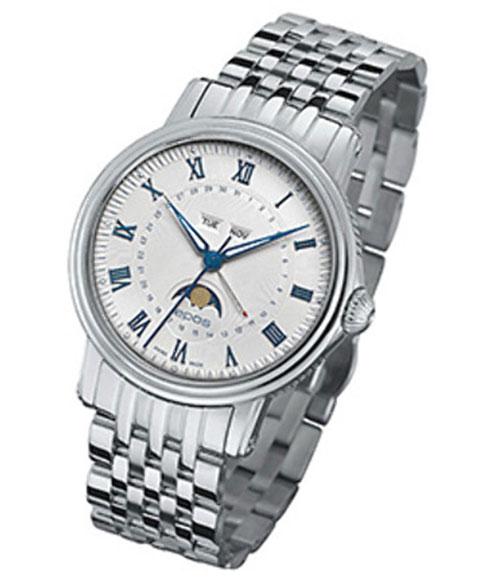エポス エモーション カレンダー 3391RWHM 自動巻き 腕時計 メンズ epos メタルブレス