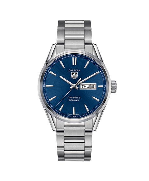 タグホイヤー カレラ キャリバー5 クロノ デイデイト WAR201E.BA0723 腕時計 メンズ 自動巻 TAG HEUER タグ・ホイヤー 自動巻 メタルブレス