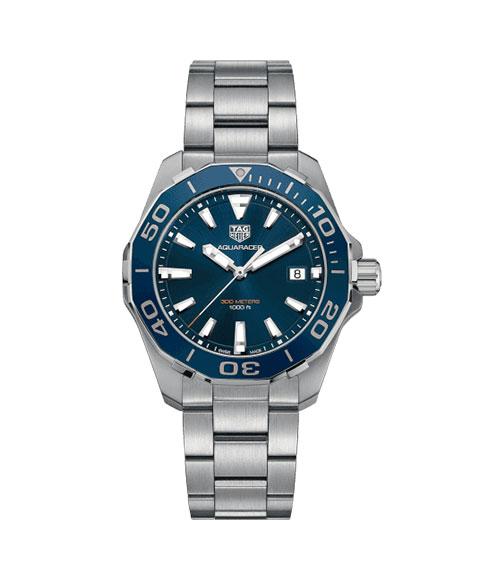 タグホイヤー アクアレーサー 300m防水 WAY111C.BA0928 腕時計 メンズ 自動巻 TAG HEUER タグ・ホイヤー ダイバーズ  クロノグラフ 自動巻 メタルブレス
