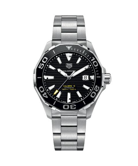 タグホイヤー アクアレーサー 300m防水 WAY201A.BA0927 腕時計 メンズ 自動巻 TAG HEUER タグ・ホイヤー ダイバーズ  クロノグラフ 自動巻 メタルブレス