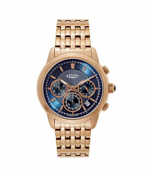 ロータリー モナコ GB02879-05 腕時計 メンズ ROTARY Monaco ゴールド メタルブレス