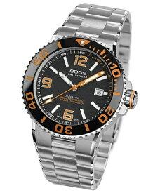 エポス スポーティブ ダイバー 3441ABKORM 腕時計 メンズ 自動巻 epos SPORTIVE DIVER メタルブレス