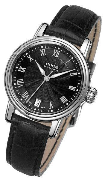 海外取寄せ(納期:約3〜4ヶ月後) エポス エモーション クラシック 4390RBK 腕時計 レディース 自動巻 epos Emotion