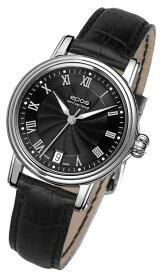 エポス エモーション クラシック 4390RBK 腕時計 レディース 自動巻 epos Emotion 自動巻 レザーストラップ ブラック系