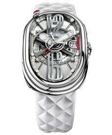 グリモルディ G.T.O. フジ SSSHICE612SL-WH 腕時計 メンズ GRIMOLDI Gran Tipo Ovale Fuji ホワイト系