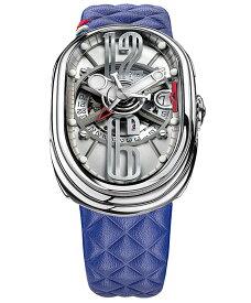 グリモルディ G.T.O. フジ SSSHICE612SL-BL 腕時計 メンズ GRIMOLDI Gran Tipo Ovale Fuji ブルー系