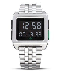 アディダス アーカイブ_M1 Z01-3043 腕時計 メンズ ユニセックス ADIDAS ARCHIVE_M1 レディース 男女兼用 メタルブレス デジタル
