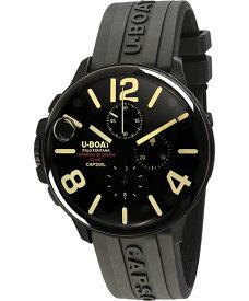 ユーボート カプソイル クロノ DLC ラバー 8109R 腕時計 メンズ U-BOAT CAPSOIL CHRONO DLC RUBBER