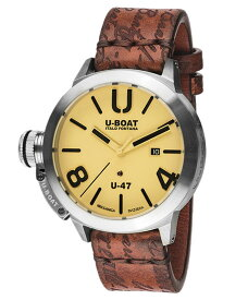 ユーボート クラシコ U-47 AS2 8106 腕時計 メンズ U-BOAT CLASSICO U-47 47MM AS1 自動巻