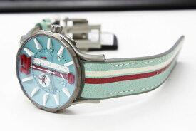 ワケあり アウトレット 55%OFF! NOA ノア 腕時計 16.75 GRT 005 モナコ クロノグラフ 限定モデル レザーストラップ