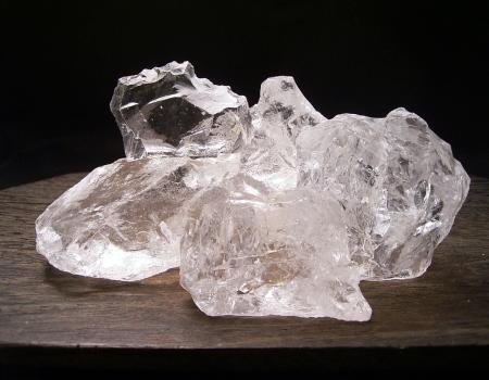 なんとまとめてドーンと500g天然水晶原石(L)量り売りマダガスカル産