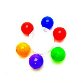 カラフルリストバンドベル 25個入【景品 玩具 縁日 お祭り 子供会 イベント おもちゃ オモチャ 楽器 音楽 鳴る】