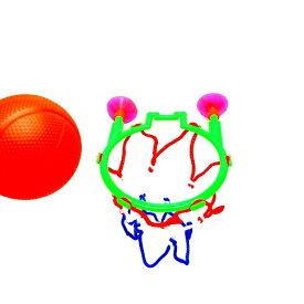 バスケゴールリング 25個セット【景品 玩具 縁日 お祭り お子様ランチ ランチ景品 幼稚園 イベント おもちゃ オモチャ】