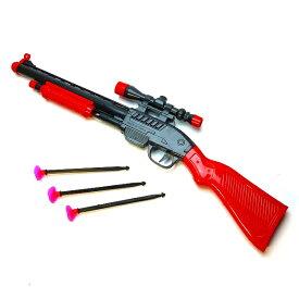 【射的銃】キューバンダーツショットガン 6個入【景品 玩具 縁日 お祭り ライフル 鉄砲 GUN ショットガン 吸盤 くっつく 子供会 自治会 イベント 射的】