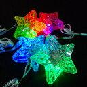 【光るおもちゃ/光り物玩具】光るスターペンダント 36個入【光るおもちゃ 縁日 お祭り 夏祭り おもちゃ 景品】