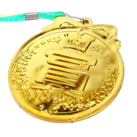 やったね金メダル 25個入【景品 子供 縁日 お祭り 子供会 自治会 子供会 子ども会 お子様ランチ ランチ景品】