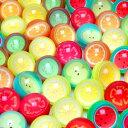 スーパーボールフルーツ27mm100個入り{スーパーボール すくい すくいどり 縁日 お祭り 景品 玩具 オモチャ …