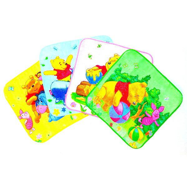 くまのプーさんハンカチ【ご注文単位は12個単位でお願いします。】 子供会 縁日 お祭り 自治会 プチタオル タオル ハンカチ ディズニー disney Disney 保育園 幼稚園