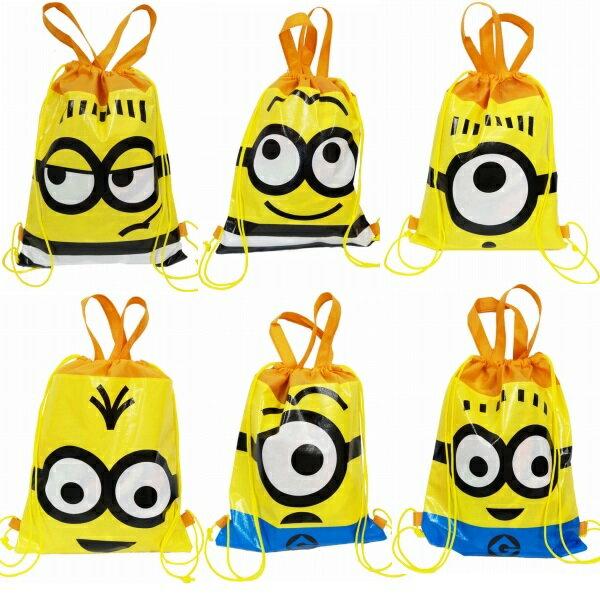 ミニオンズ 2wayバッグ【ご注文単位は必ず12個単位でお願い致します】景品 子供 子供会 お祭り 縁日 お子様ランチ ランチ景品 文具 文房具