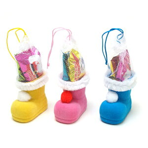 キャンディミニブーツ5センチ★クリスマス ブーツ お菓子 詰め合わせ 駄菓子 クリスマスブーツ 子供 子供会