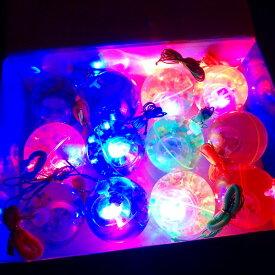 【光るおもちゃ】光るリターンウォーターボール 12個入【光るおもちゃ 光り物玩具 光りもの 光る 縁日 お祭り 夏祭り 景品 おもちゃ 玩具 景品玩具】
