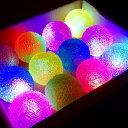 【光るおもちゃ】フラッシュキラキラボール 12個入【光るおもちゃ 光るブレスレット 光り物玩具 光りもの玩具 縁日 お…