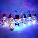 ディズニーぽっちゃり電球ボトルストラップ付 6個入【電球ソーダ 電球ジュース 電球ドリンク 電球ボトル 電球 ソーダ…