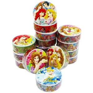 ディズニープリンセスマスキングテープ 32個セット【景品 子供 おもちゃ 縁日 お祭り 子供会 イベント】
