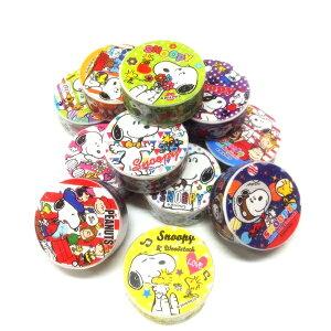 スヌーピーマスキングテープ 36個セット【景品 子供 おもちゃ 縁日 お祭り 子供会 イベント】