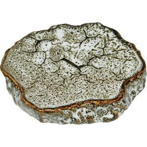 お得です!割引クーポン!SALE!新作! 岩石 プレート ゆず白 てまひま工房 天然素材と心を紡ぐ Temahima-koboまるで岩 重厚感 迫力 おしゃれ 映える 器 皿 美味しそう 新生活応援セール