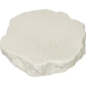 お得です!割引クーポン!SALE!新作! 岩石 プレート 白 てまひま工房 天然素材と心を紡ぐ Temahima-koboまるで岩 重厚感 迫力 おしゃれ 映える 器 皿 美味しそう 新生活応援セール