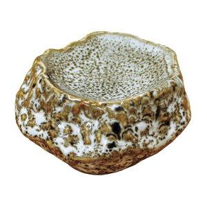 お得です!割引クーポン!SALE!新作! 岩石 一品皿 ゆず白 てまひま工房 天然素材と心を紡ぐ Temahima-koboまるで岩 重厚感 迫力 おしゃれ 映える 器 皿 美味しそう 新生活応援セール