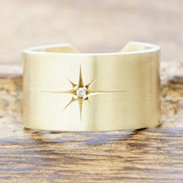 amp japan(アンプジャパン)真鍮 リング 指輪 ダイヤモンド メンズ16ao-220【送料無料】