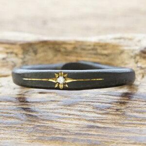 【あす楽】amp japan(アンプジャパン) リング メンズシルバー 925 指輪 ダイヤモンドブラック コーティングヴィンテージ アンティークハンドメイド ジュエリーファッション ブランド おしゃれ1