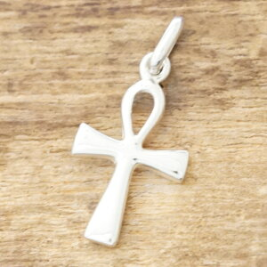 【あす楽】アンククロス ネックレスメンズ レディースシンプル シルバー 925エジプト 十字架 クロス エジプシャンペアネックレス お揃い プレゼントファッション ブランド おしゃれTJK SD14S