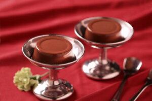 五島軒濃厚ベルギーチョコレートムース4個入【楽ギフ_包装】