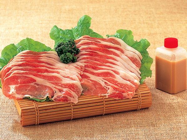 鍋 ギフト 五島豚 豚しゃぶ1kg タレ付