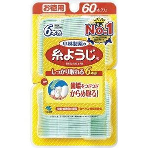 小林製薬の糸ようじ フロス&ピック デンタルフロス 60本(小林製薬)