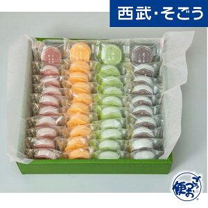 ひとくちサイズ カラフル もなか 最中 菓匠 寿紗 かずさ 華monaca assorte 4種計40個