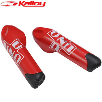The Kalloy (カロイ) BE-304 aluminum bar end (red)