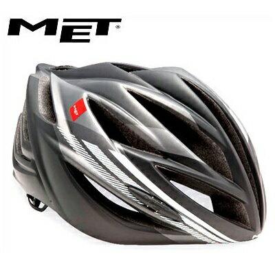 【在庫あり】【送料無料】MET メット ヘルメット フォルテ アンスラサイトホワイト