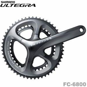 【送料無料】SHIMANO(シマノ)ULTEGRA FC-6800(11スピード、ダブル) HOLLOWTECH II クランクセット (34-50T)【自転車 シマノ アルテグラ 6800 クランクセット】