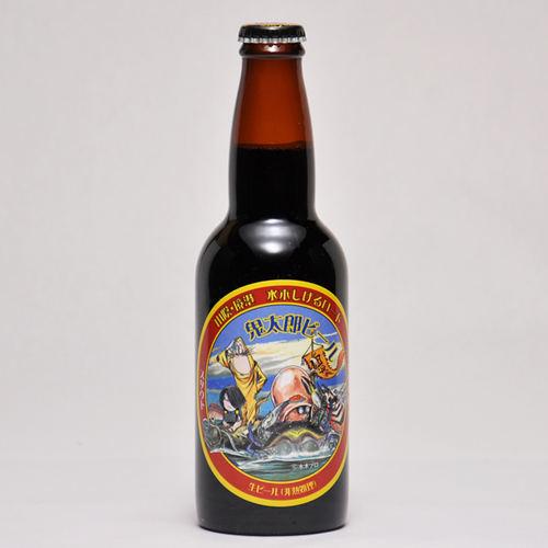 鬼太郎ビール スタウト 330ml ×1本 要冷蔵 鳥取県産 地ビール 代引不可 ギフト お歳暮 父の日 お中元